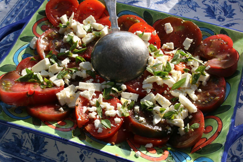 Greek Tomato and Feta Salad