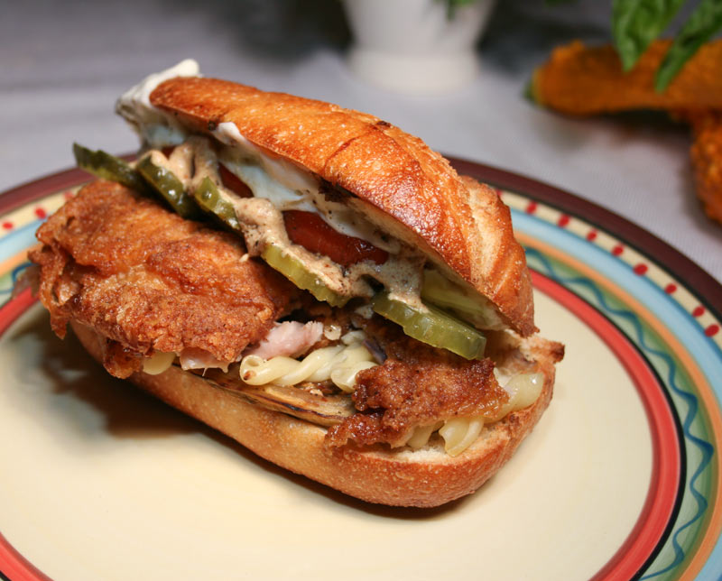 Chicken-Fried Chicken And Pickled Pepper Sandwiches Recipes ...