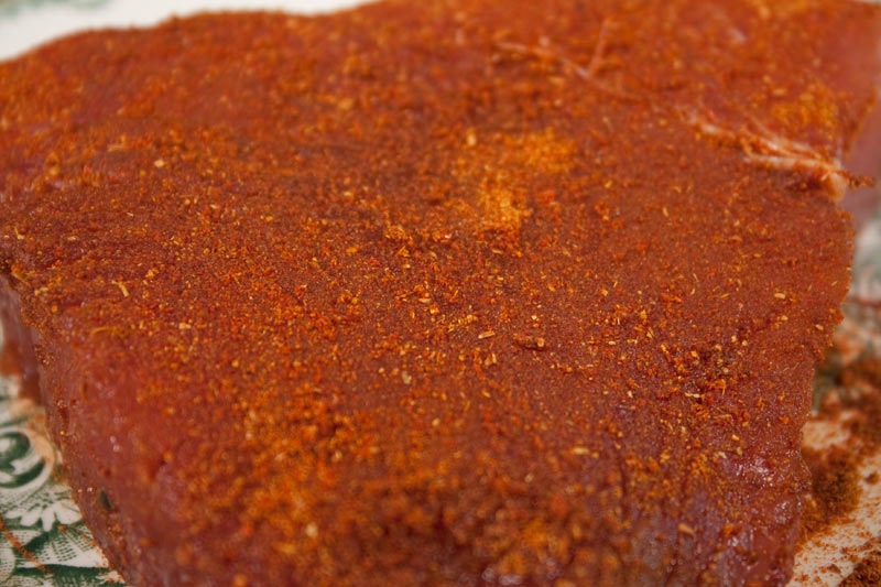Spicy Rub Recipe for Seared Ahi Tuna