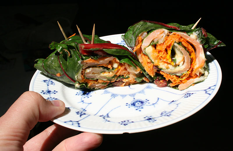 Swiss Chard Roll