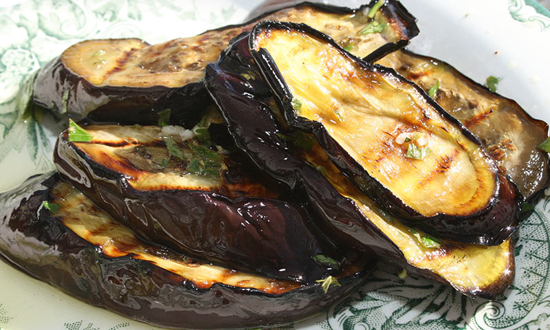 Grilled Eggplant Crostini Appetizer | Amazing Sandwiches ...