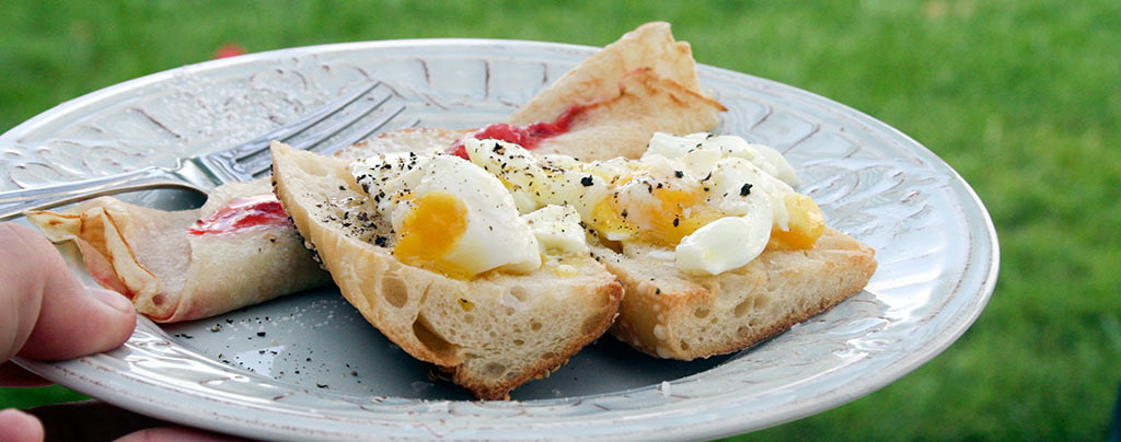 How To Boil An Egg For Sandwiches