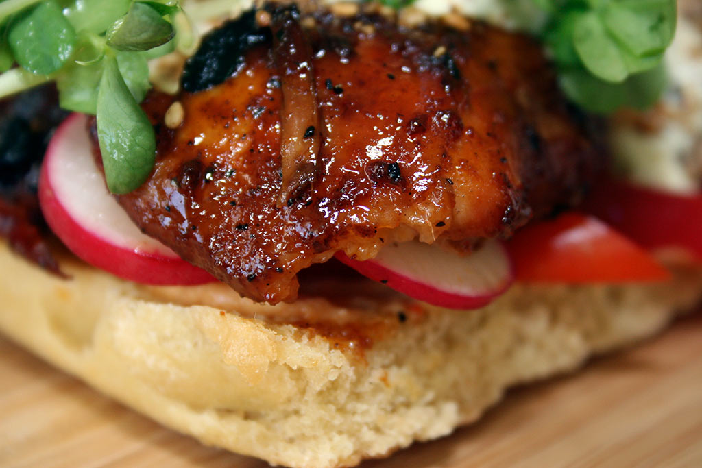 Phil's BBQ Chicken Sandwich