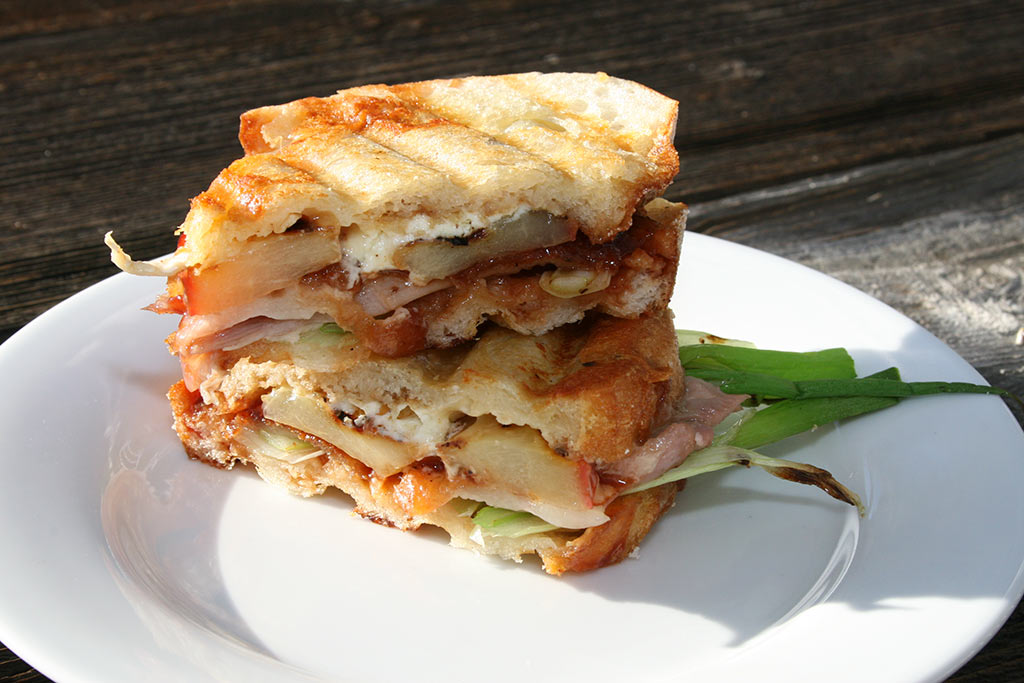 Roasted Duck Panini
