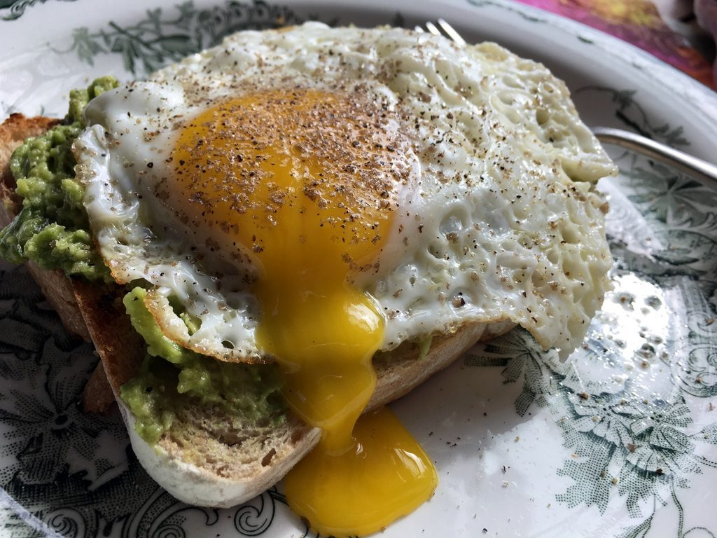 Avocado/Egg Sandwich